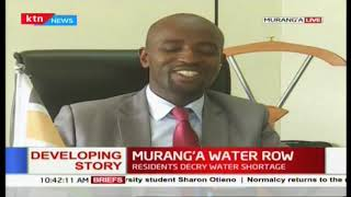 Do not pay private entities- Water CEC on the Murang\'a water row