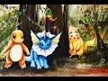 Watercolor Cartoon Painting full video Demonstration