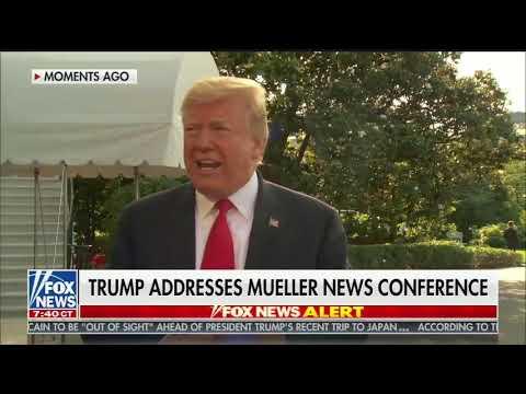 Trump: Mueller is a 'true Never Trumper'