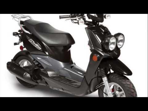 Скутер Yamaha BWs 100 - YouTube