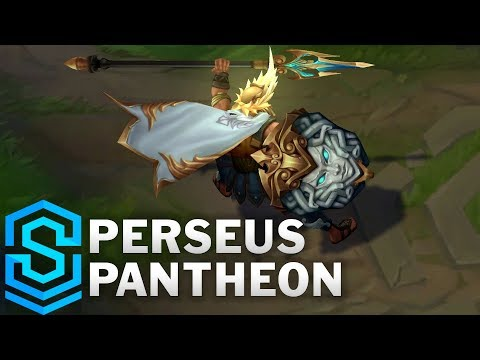 Perseus Pantheon 2019 Skin Spotlight - League of Legends