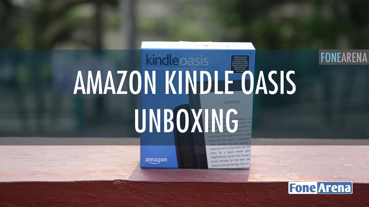 Amazon Kindle Oasis Unboxing - YouTube