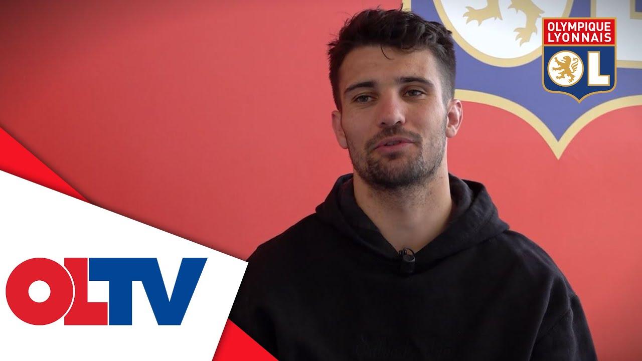 Léo Dubois après sa sélection pour l'Euro   Olympique Lyonnais