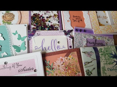 10 cards 1 kit | Featuring First Edition ''Paper Flower'' and First Edition Dies