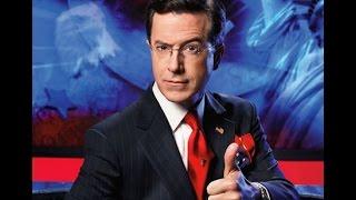 Stephen Colbert | Ottawa Shooting | Sings National Antherm