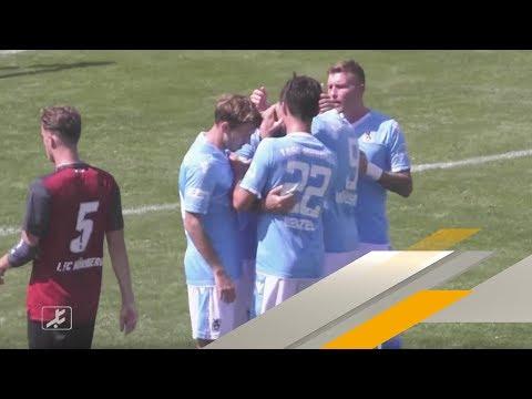Highlights: TSV 1860 München besiegt Nürnberg II im Geisterspiel | SPORT1