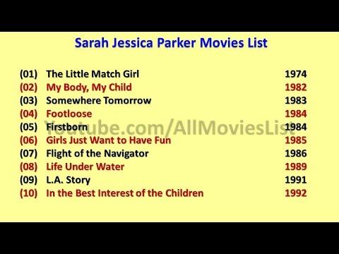 Sarah Jessica Parker Movies List