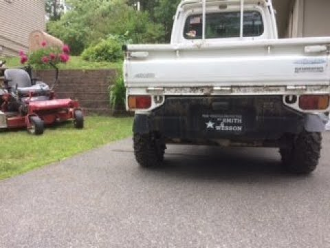 Engine Clearance - Subaru Sambar Mini Truck