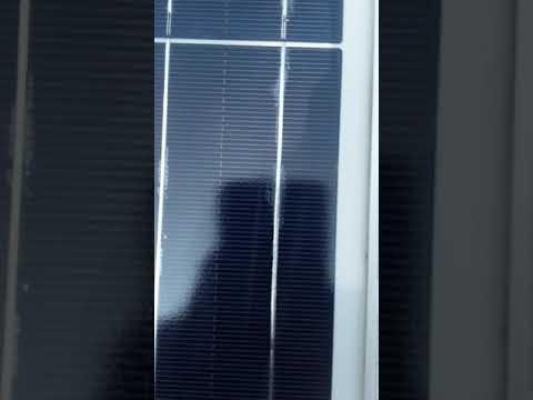 exide solar panel Bush bar damage