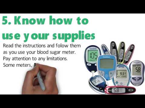 5 Tips For Testing Your Blood Sugar At Home