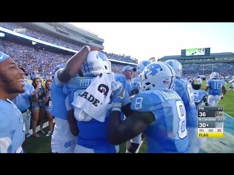 UNC Football: Heels Rally Past Pitt in Dramatic Fashion, 37-36