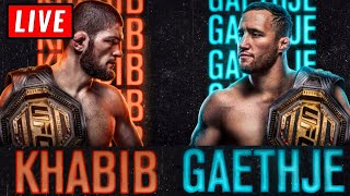 🔴 UFC 254 Live Stream - KHABIB vs GAETHJE & Whittaker vs Cannonier Reaction Watch Along