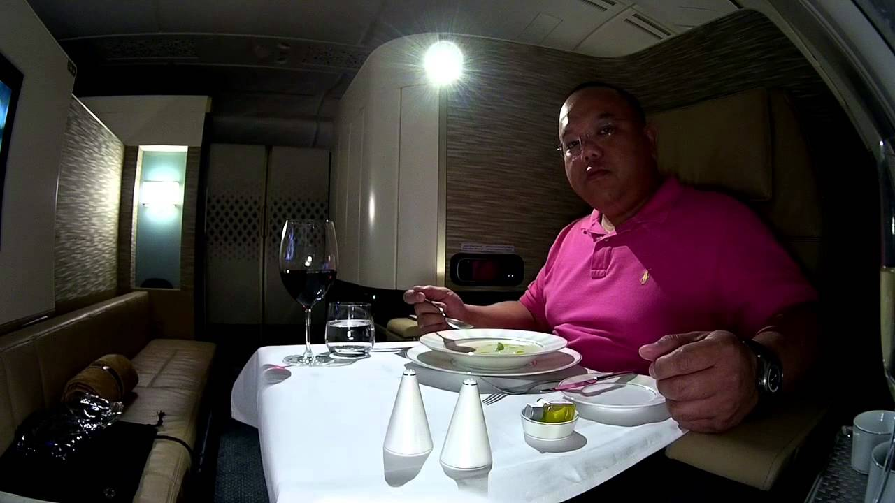 A380 Etihad Airways First Class Apartment Suite Experience