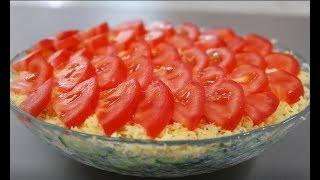 """Салат """"РАЗБИТОЕ СЕРДЦЕ"""" !!! Простой красивый салат"""