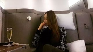 Super wealthy daughters of Chinese billionaires flaunt trips on private jets