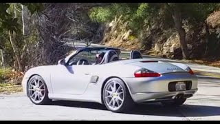 porsche 986 boxster 3 4 liter engine sights and sounds