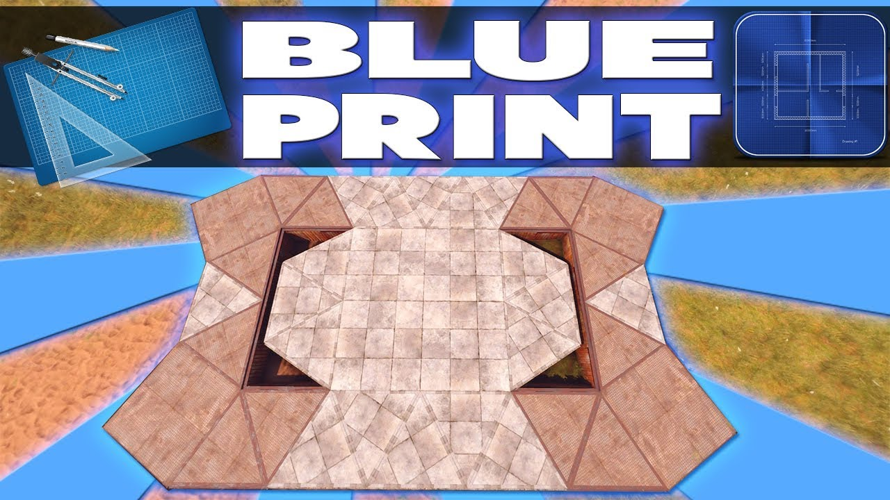 The new blueprint base rust base design youtube the new blueprint base rust base design malvernweather Image collections