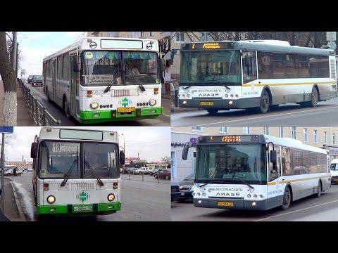 """Автобусы ЛиАЗ-5256 и ЛиАЗ-5292 """"Наше Подмосковье"""" (г. Клин)"""