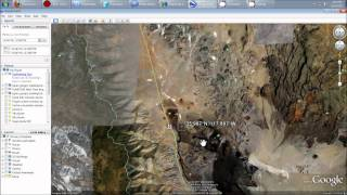 10/4/2011 -- Always look up earthquake epicenters on Google Earth = Volcano Mountain, CA quake