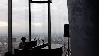 Смотреть видео Привет из Москва Сити #Панорама360 🎼 Музыкальное приглашение в онлайн бизнес онлайн