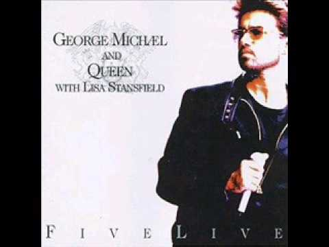 George Michael and Queen: Killer - Papa was a rollin' stone from Five Live album