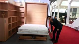 Matrix Space Saving Wall Bed Furniture(ss Wbvd W Bs Ot)