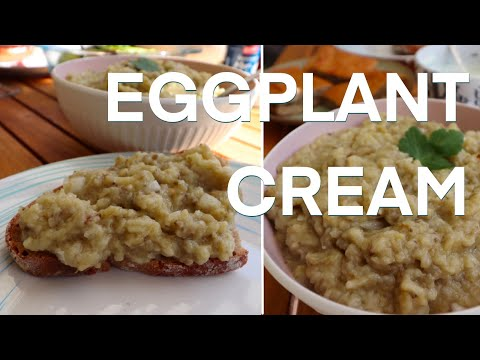 Eggplant Cream/Spread/Dip   Vegetarian   In For The Food