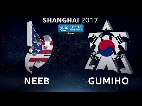 StarCraft 2 - Neeb vs. GuMiho (PvT) - IEM Shanghai 2017 - Closed Global Qualifier - QM LB