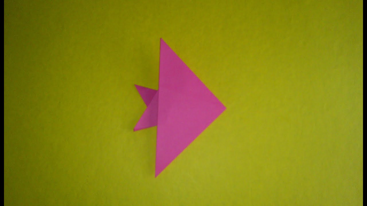 How to make a simple paper fish youtube for How to make fish