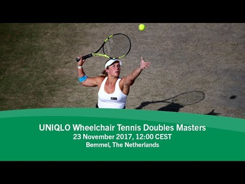 2017 UNIQLO Wheelchair Tennis Doubles Masters | Day 2