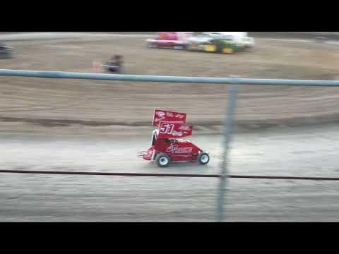 Plaza Park Raceway KOFC Rd7 6/8/18 Jr Sprint Heat 2B