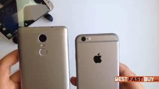 Xiaomi Mi Redmi NOTE 3 Pro vs iPhone 6 Speed Test