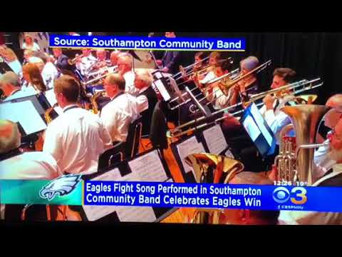 Fly Eagles fly by the SOUTHAMPTON COMMUNITY BAND