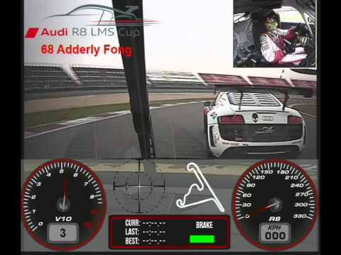 Adderly Fong Audi R8 LMS Cup
