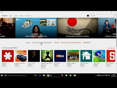 windows-10---store,-apps-finden-&-installieren
