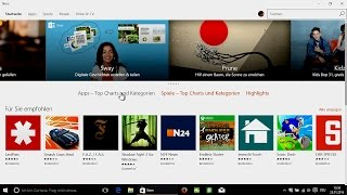 Windows 10 - Store, Apps finden & installieren