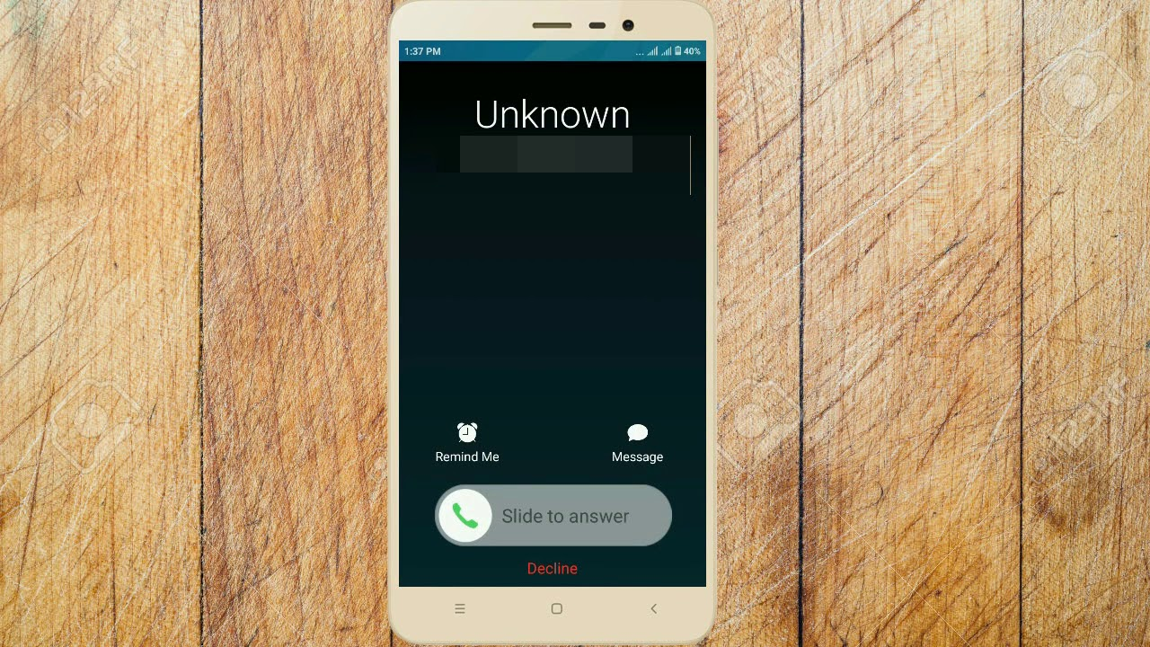 How to change like iPhone incoming/outgoing call screen on any Android //  No Root