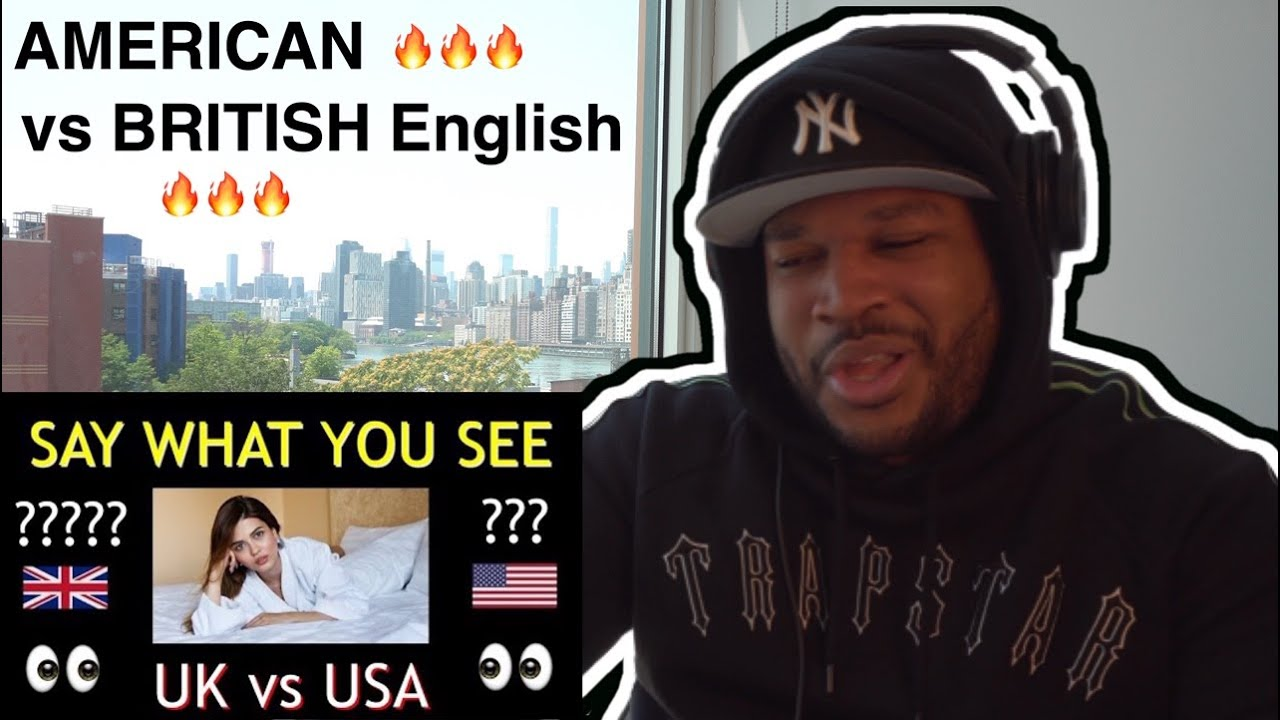 AMERICAN vs BRITISH English **55 DIFFERENCES** [Reaction]