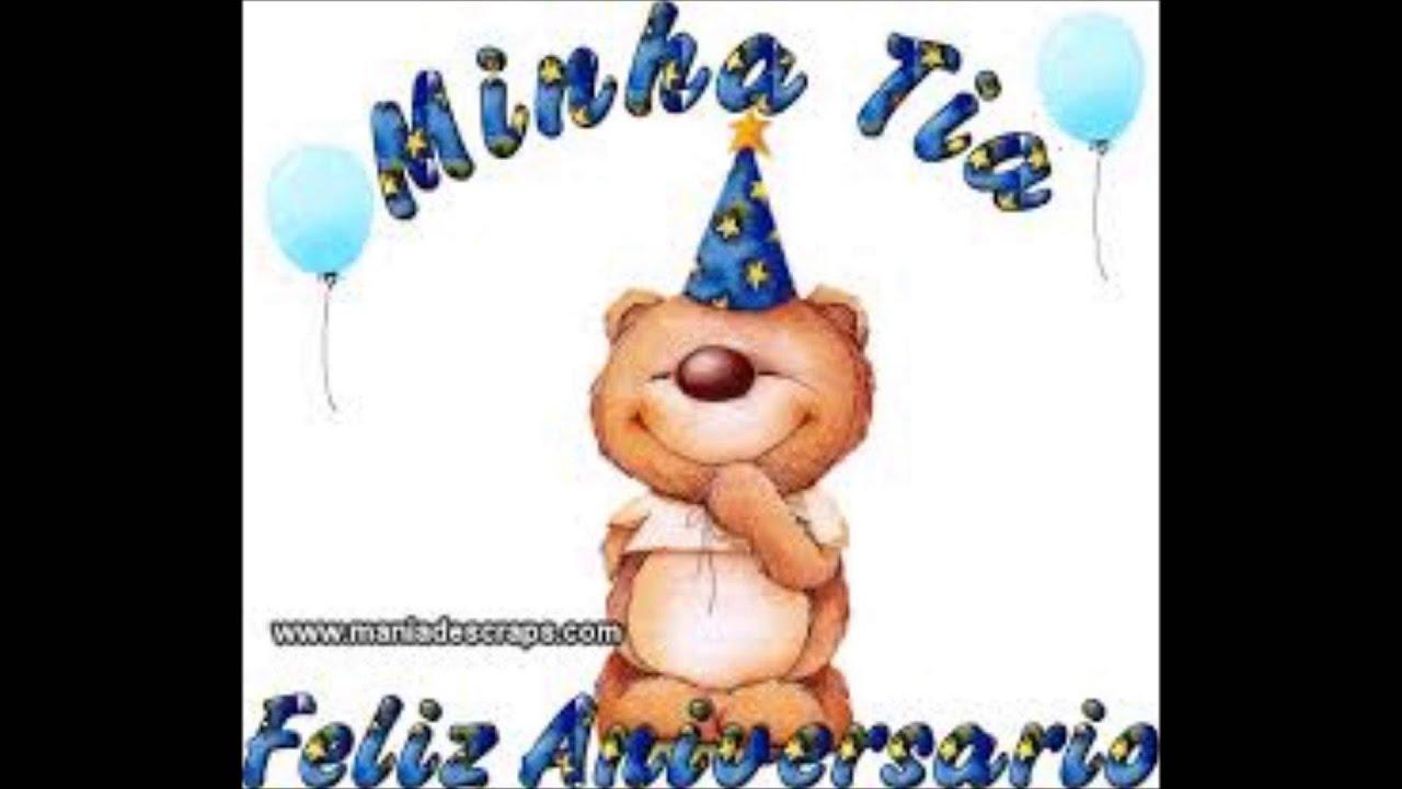 Mensagem De Celular Para Aniversário De Tia: Telemensagem Aniversário Para Tia ( Voz Infantil Masculina