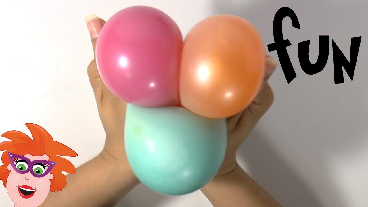 Ongekend DIY - Zelf squishy Stressballen maken van ballon en douchegel of AF-37