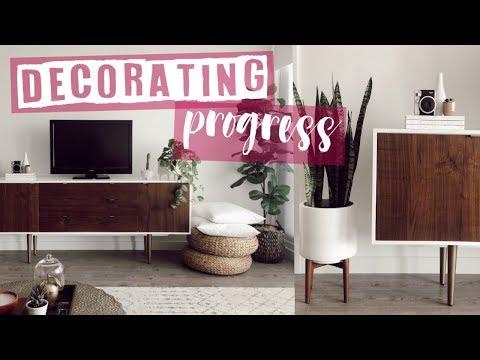 Mini Apartment Tour // Decorating Progress Update | Rachael Jade