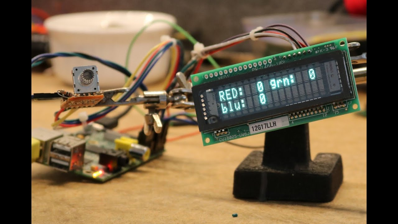 RGB Rotary Encoder on a Raspberry Pi - Dr  Scott M  Baker