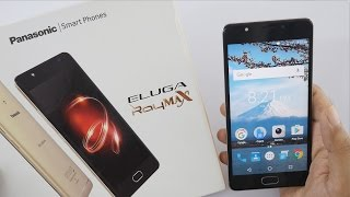 Panasonic Eluga Ray Max Smartphone Unboxing amp Overview