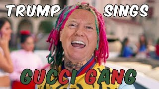 Скачать Trump Sings Gucci Gang By Lil Pump