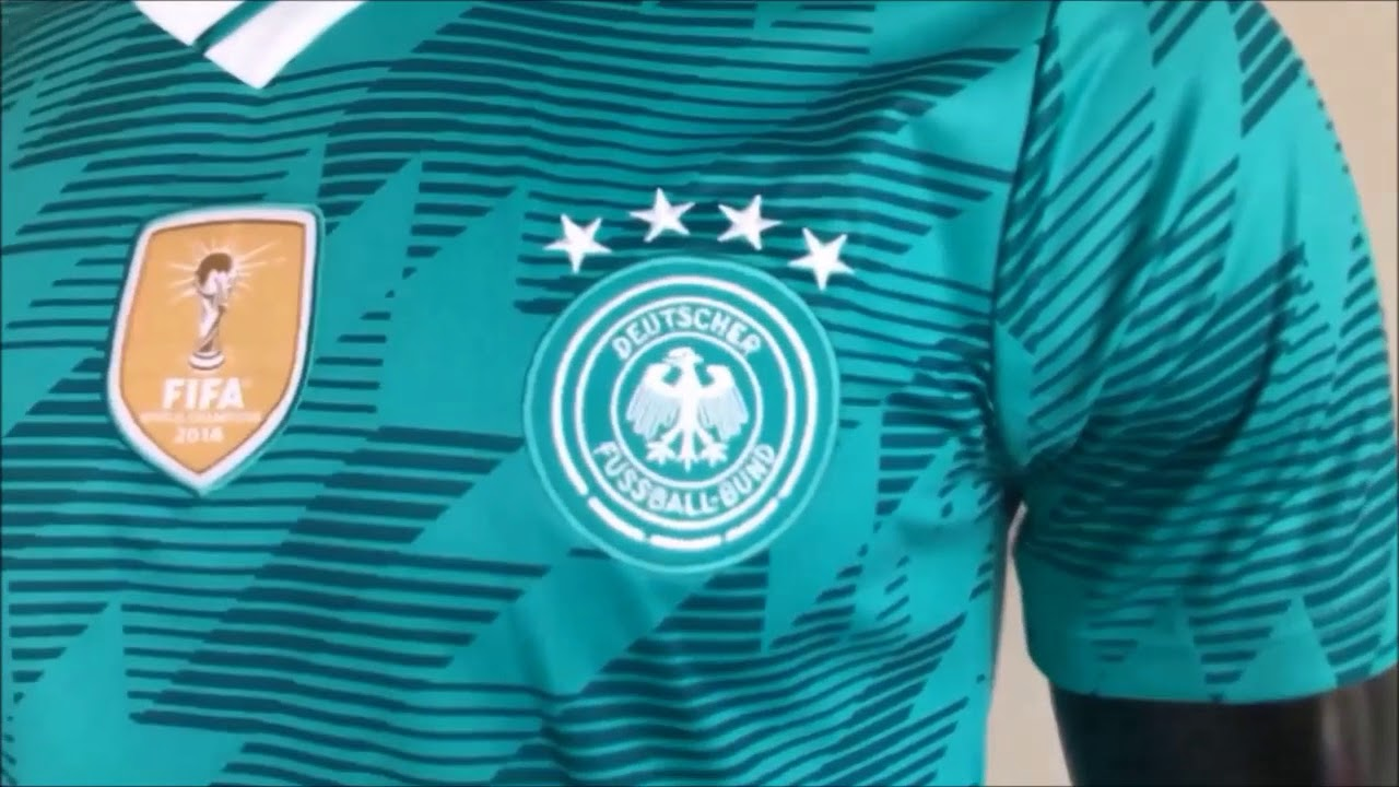 Camisa Seleção Alemanha 2018 Uniforme 2 Fans - YouTube 3d4157ffa658a