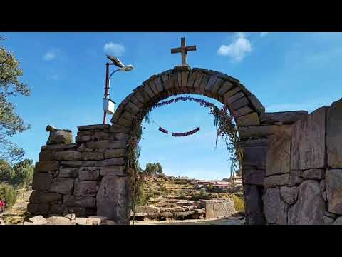 Island of Taquile in the Lake Titicaca #14