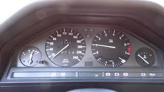 BMW E30 316I problème ralenti à froid