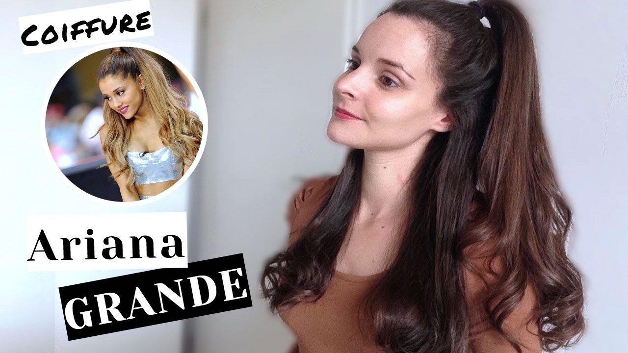 Tuto coiffure de ariana grande c line youtube - Ariana grande coiffure ...