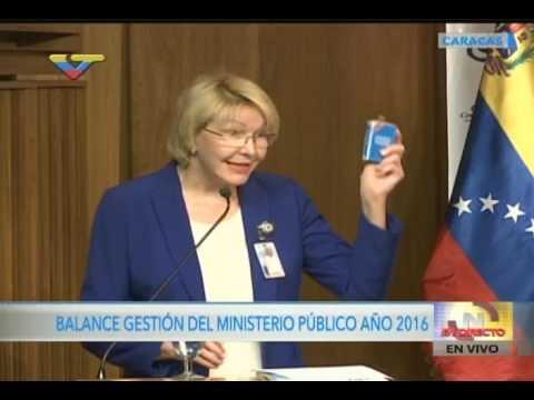 "Fiscal Luisa Ortega Díaz confirma ""Golpe de Estado"" en Venezuela"