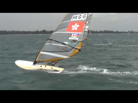 2011 RS:X Asian Championships - Day 1 Highlights Travel Video
